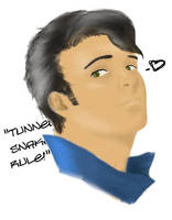 Butch Deloria by katiefoss