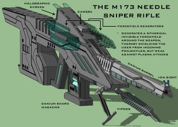 M173 Needle Sniper Rifle by Duskie-06