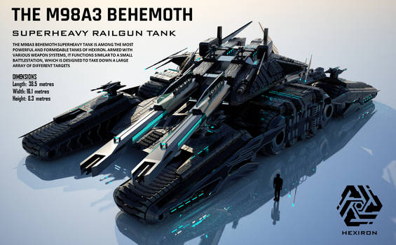 M98A3 Behemoth Superheavy Railgun Tank (UPDATED) by Duskie-06