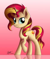 Sunset Shimmer (Commission) by Duskie-06