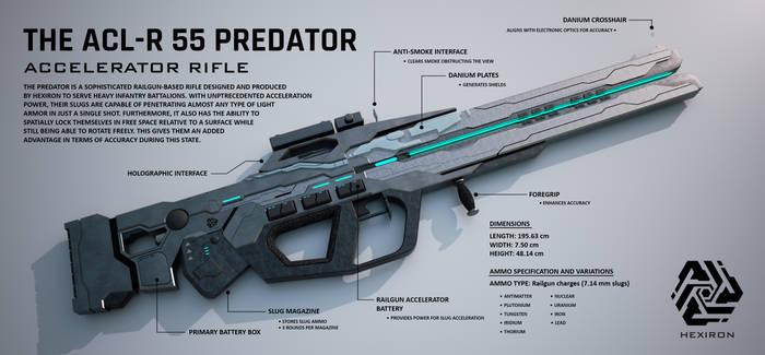 ACL-R 55 Predator Accelerator Rifle by Duskie-06