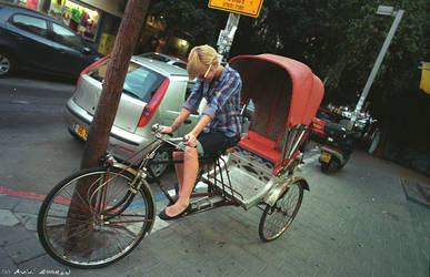 Rickshaw Girl by avivi
