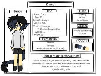 Draco ref by princessmoonstone