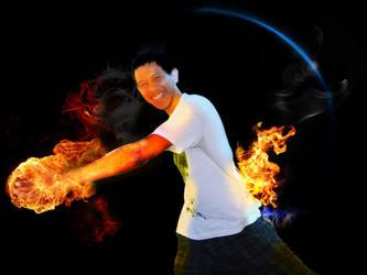 Fire arroud me by Danielsnows