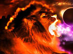 Lion Fire by Danielsnows