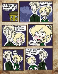 Lucius Can't Catch Up by freakypencils