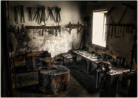 In the forge of the C. King by spare-bibo