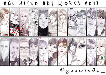 Artworks of 2017 by guswindo