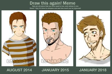 MEME: Draw This Again 4! by LeSardine
