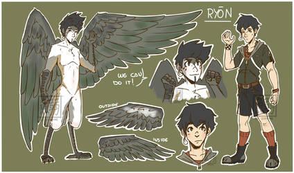 AUCTION: Bird-Boy [CLOSED] by LeSardine