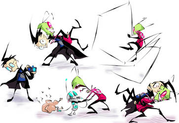 Invader Zim by tietto