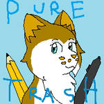 Pure Trash full icon by JustSaltyTrash