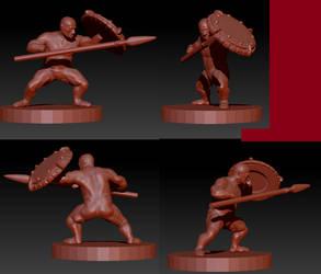 Dwarf Heroe WIP: 1 by ItlerionMenhir