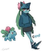 002.Ivysaur by tamtamdi