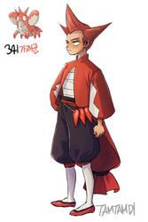 341.Corphish by tamtamdi