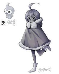 351.Castform by tamtamdi