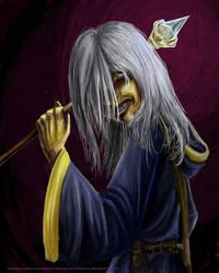 Dark Mage Rasitlin by GreyDazed