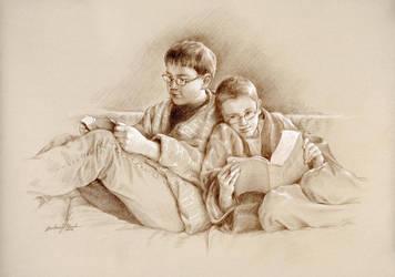 Bookworm Boys by Babsa
