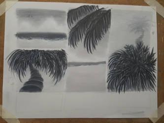 Tropical Greyscale 2 by Zalcoti