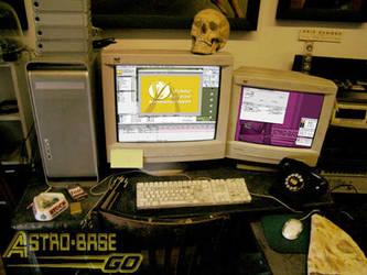 AstroBase Go, Doc's desk by Doc-Hammer