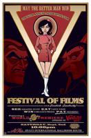 Film Festival Poster by Doc-Hammer