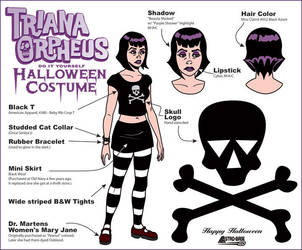 D.I.Y. Triana Costume by Doc-Hammer