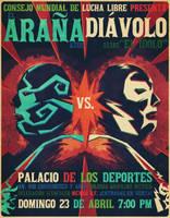 Blue Spider vs. Diavolo by DiegoTripodi