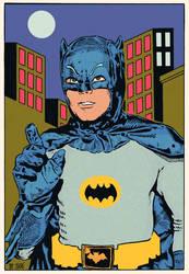 Batman 1966 by DiegoTripodi