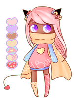 Adopt Auction: Pastel Sweet Devil - Closed! by FancyBunnie