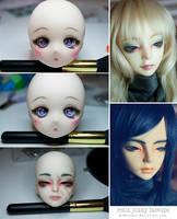 faceups by Pikkochan