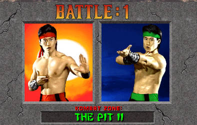 MK2 test versus screen (Liu Kang Vs Hornbuckle) by PalettePix