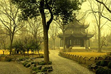 pagoda by sunnydarkside