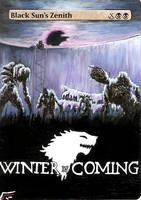 Winter is Coming. by BlackWingStudio