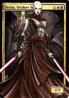Teysa, Sith Lord by BlackWingStudio