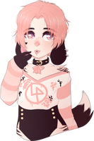 [character trade] Dvckee by flower-kitties