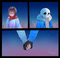 Holding Hands by Voigsz