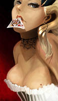 PINUP queen of hearts by Megane