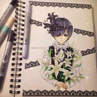 Ciel Phantomhive - black butler by Fangirl342