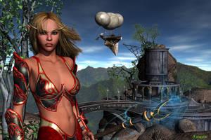 Blood Elf by Kreegan