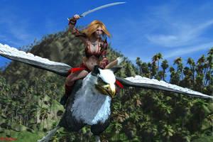 Gryphon Flight by Kreegan