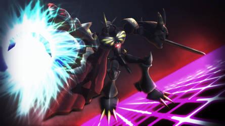 The Jet-Black Knight by HarutoTerui