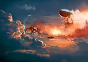 ~Burning Clouds by Kureiyah