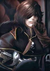 Captain Harlock by Kureiyah