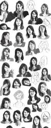 Facial Expression Study 02 - Tamara by vandalk