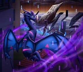 [YGO Dragon AU] Desolation by cynderplayer