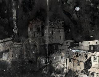City sketch by fvallejo