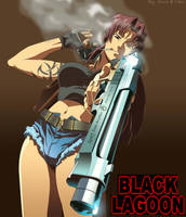 Revy..Black Lagoon by nairarun15