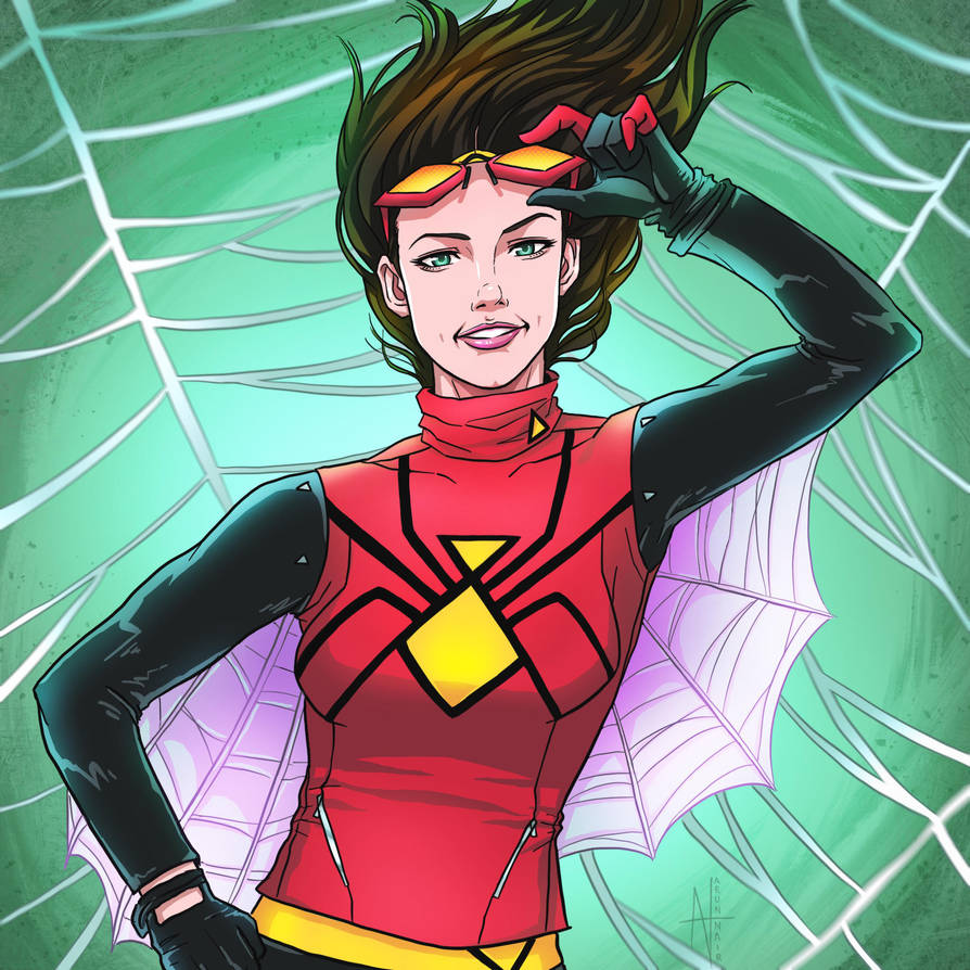 Commission Art: Spider Woman! by nairarun15