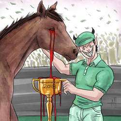 Bloody Melbourne Cup! by nairarun15