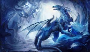 Dragon Magic by sakimichan